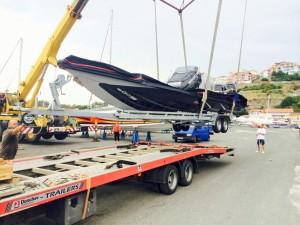 Превоз на моторна яхта 6